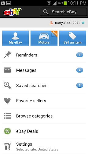 Ebay For Android Gets Much Needed Face Lift With Version 2 0