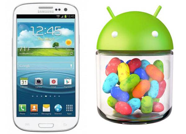 Galaxy S3 Jelly Bean update commences, Samsung provides ...