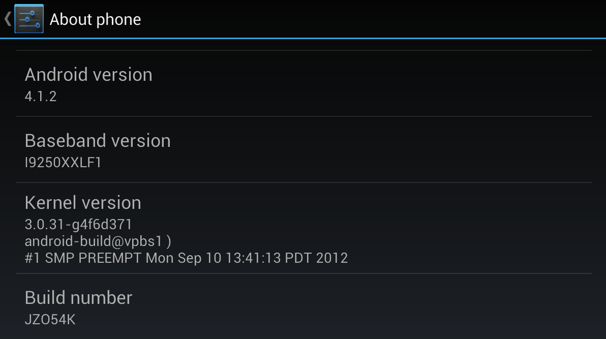 Android 4.1.2 Over-The-Air Update Now Rolling Out To Google Play