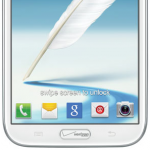 Verizon Galaxy Note 2 thumb button branded
