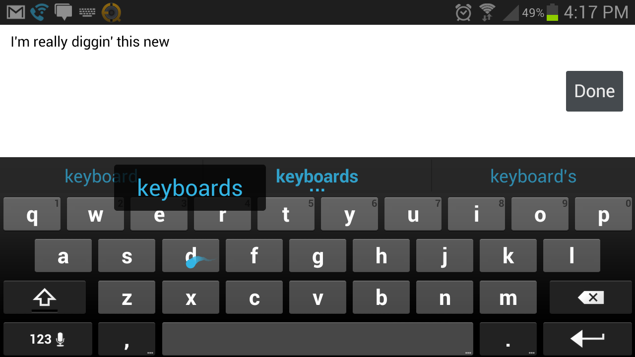 how to use aosp keyboard