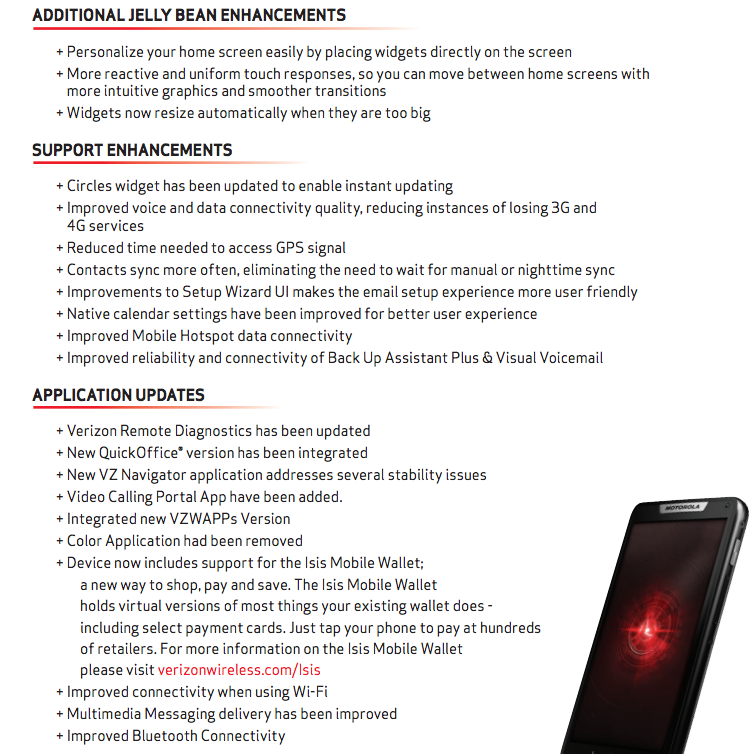Continue reading on the Motorola DROID RAZR M forums , see the specs
