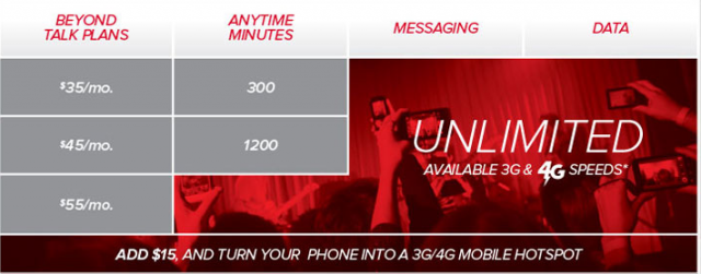 Virgin Mobile offers unlimited talk, text, and data plans as well as talk/text only plans for basic flip phones. These payLo plans usually only include talk, text and a small amount of data. These payLo plans usually only include talk, text and a small amount of data.