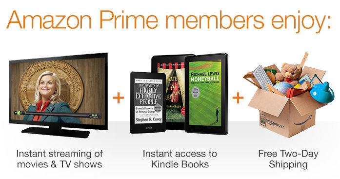 Amazon prime now available for monthly installments of 8 for Amazon prive