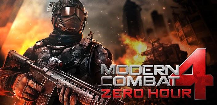 دانلود بازی جنگ مدرن Modern Combat 4 Zero Hour برای جاوا