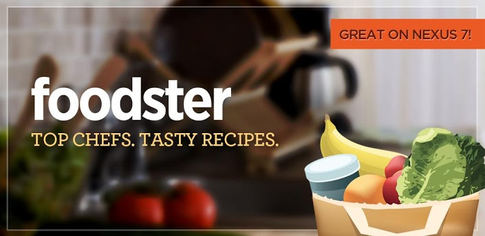 Aside from your typical recipe search, Foodster allows you to keep and