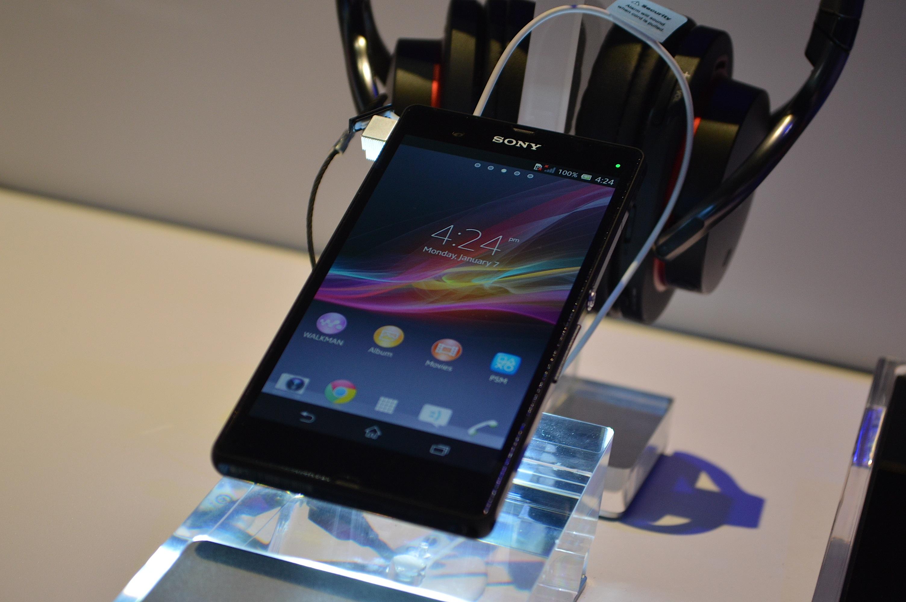 Sony Xperia Z CES 2013