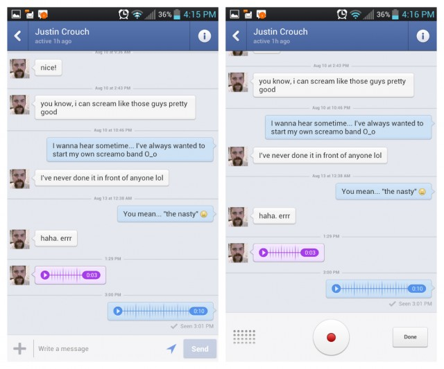 how to delete messages from facebook messenger app