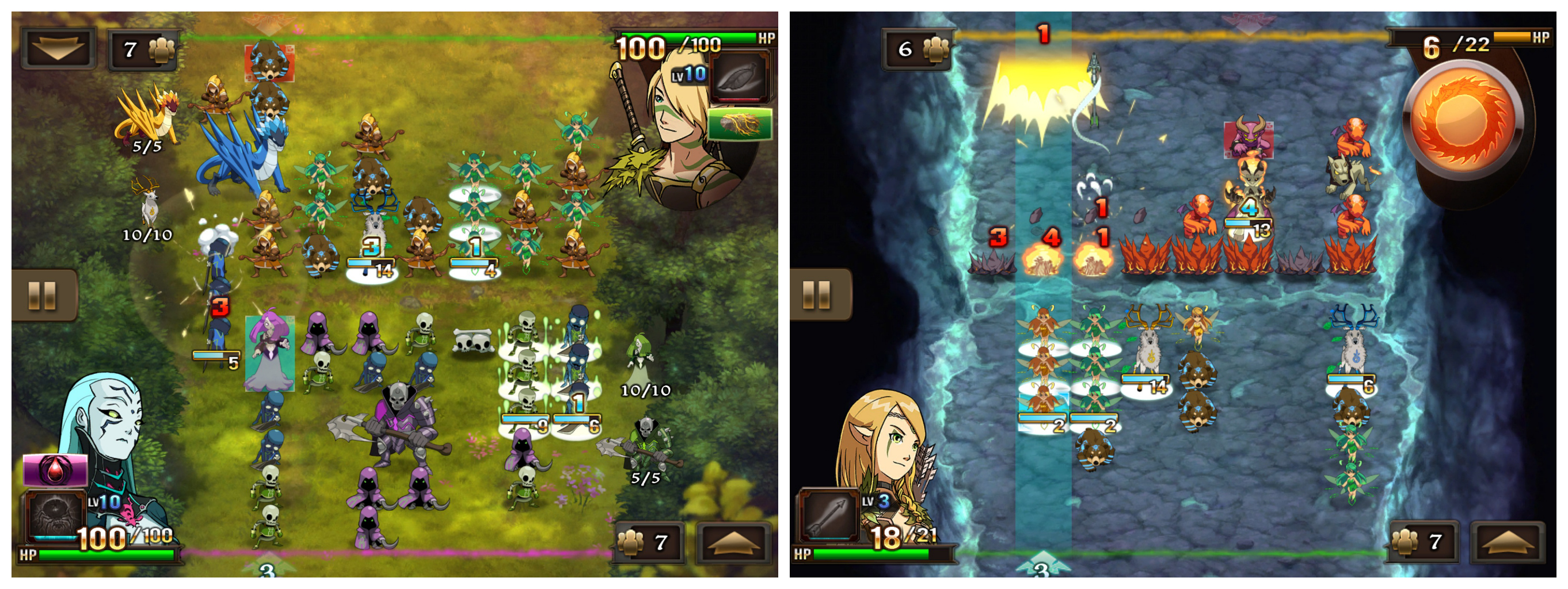 might magic clash of heroes для android