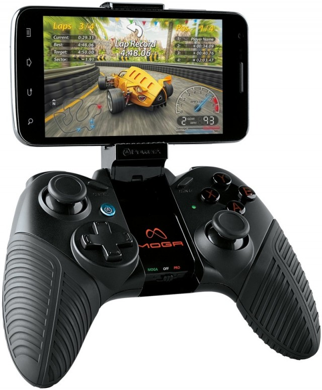 MOGA Pro gaming controller brings more traditional layout for mobile