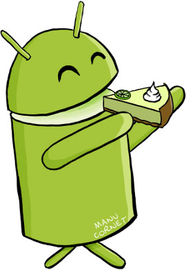 key lime pie caught running on nexus 4 and nexus 7?