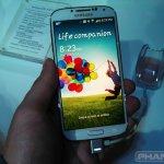 Samsung Galaxy S4 hands on wm