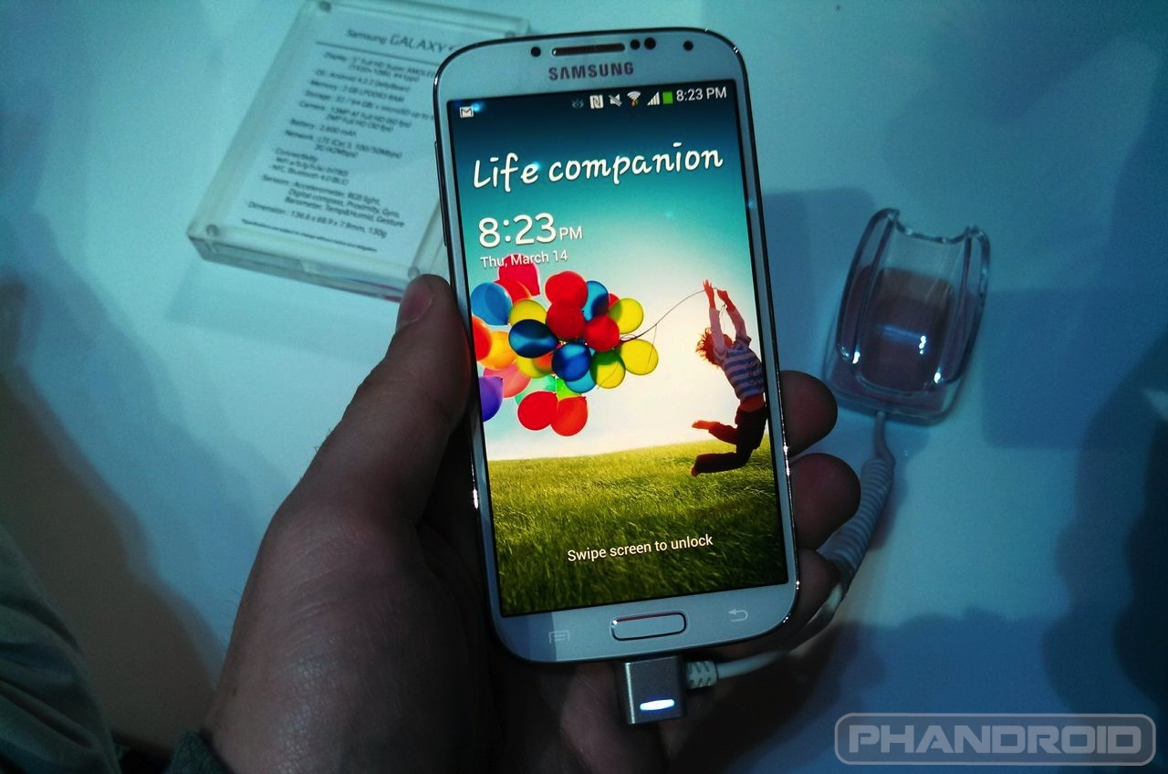 how to delete theads on galaxy s4
