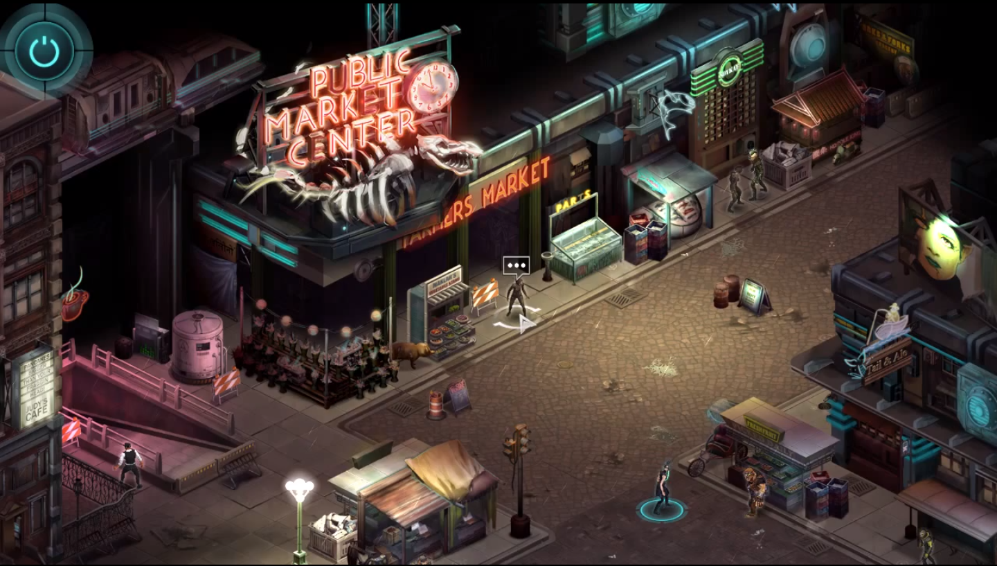 look at gameplay from upcoming shadowrun returns