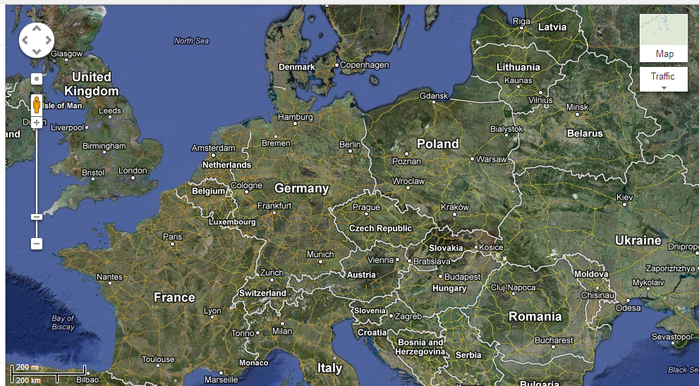 Google Germany Map