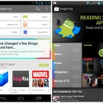 Google Play Store 4.0 new vs old 1