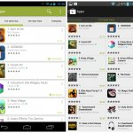 Google Play Store 4.0 new vs old 3