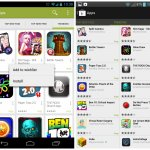 Google Play Store 4.0 new vs old 4