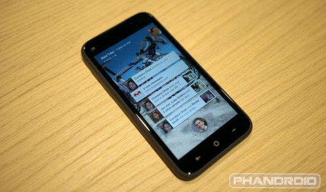 HTC First Facebook Home wm