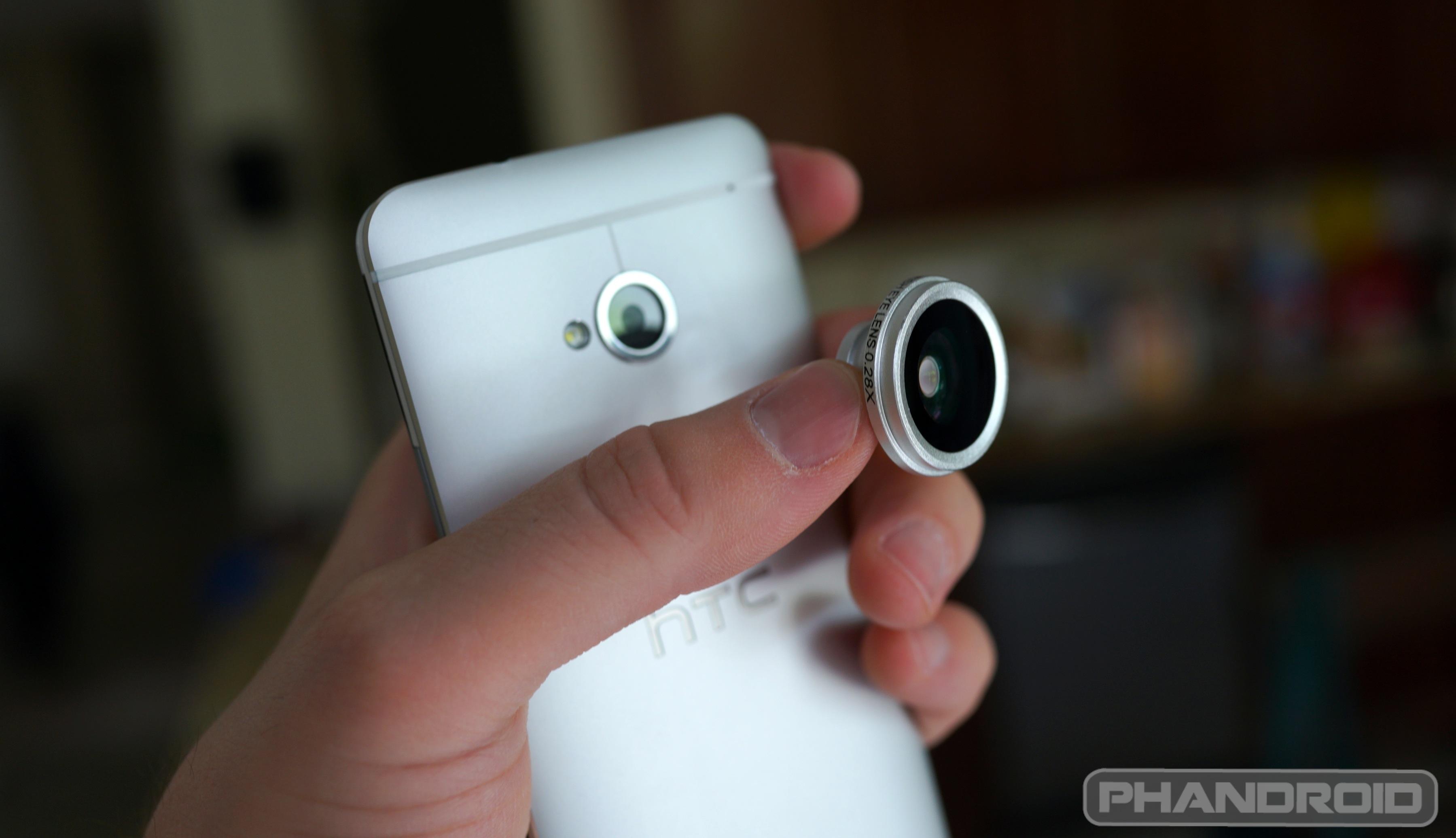 Fisheye для телефона своими руками