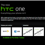HTC One developer edition out of stock