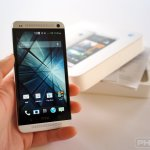 HTC One unboxing hands on
