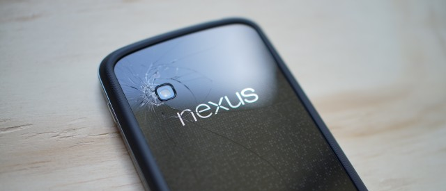 Nexus 4 cracked featured