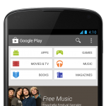 google Play Home - Phone