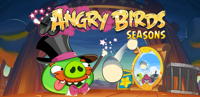 Angry Birds Seasons Abacadabra update