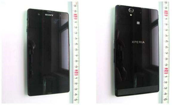FCC Sony Xperia Z