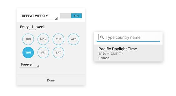 Google Calendar update timezone