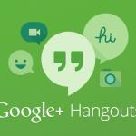 Google Hangouts banner