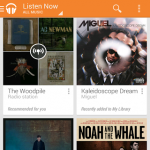 New Google Music app smartphone