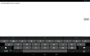 SwiftKey No Fullscreen