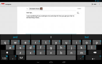 SwiftKey Tablet