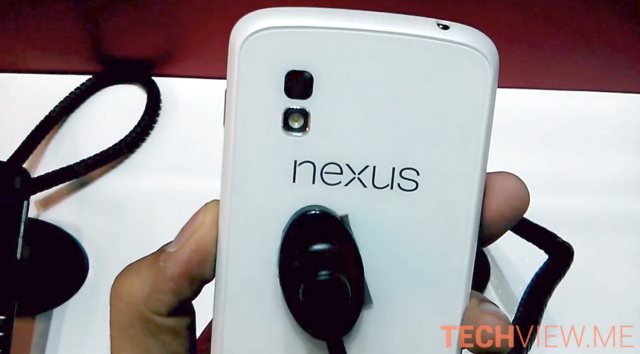 White Nexus 4 video