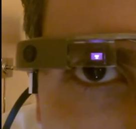 google glass winky
