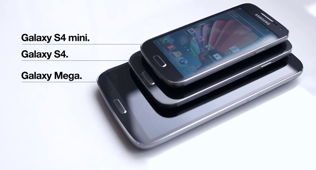 Samsung galaxy s4 mini size comparison to galaxy s4 galaxy mega 6 3