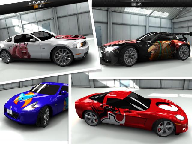 Скриншоты игры CSR Racing для iPhone, iPod, iPad. Игровой процесс CSR Raci