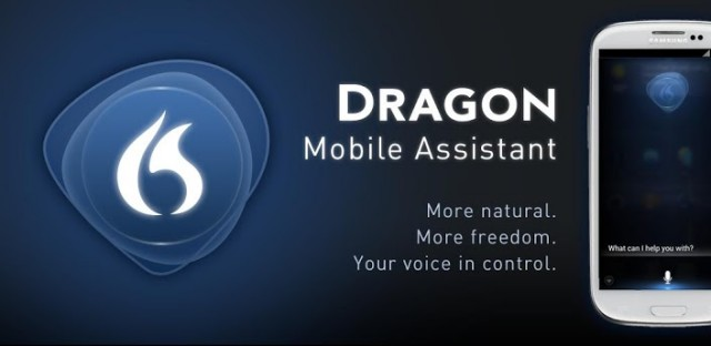 Dragon Mobile Assistant banner