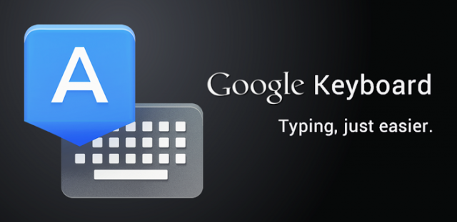 Google Keyboard banner