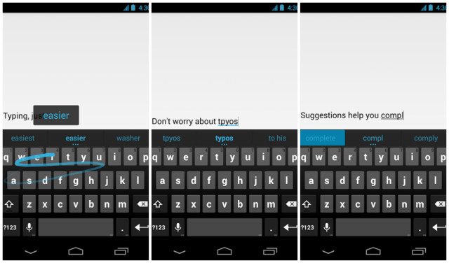 Google Keyboard screenshots