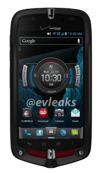 Verizon Casio Commando 4G LTE leaks in press render