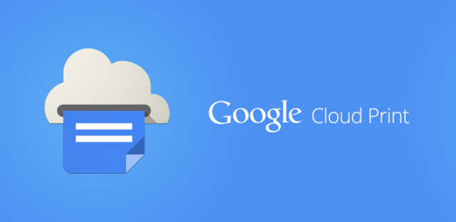 google cloud print banner