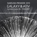 samsung galaxy premier event live stream