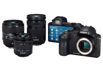 Samsung Galaxy NX mirrorless Android camera leaked