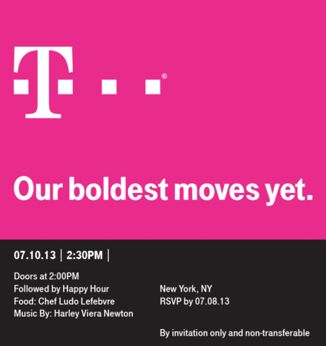 tmobile invite press event
