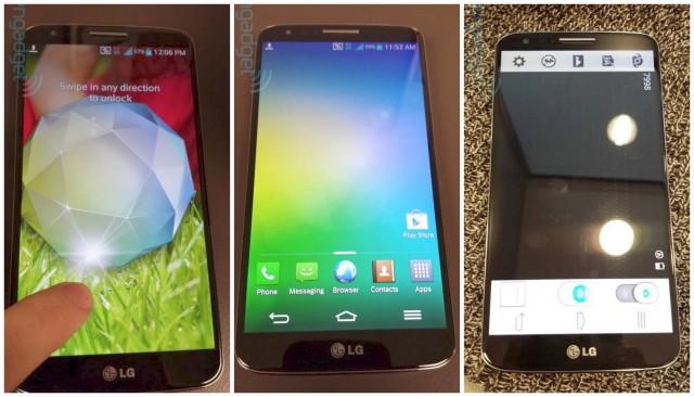 LG G2 leak Engadget