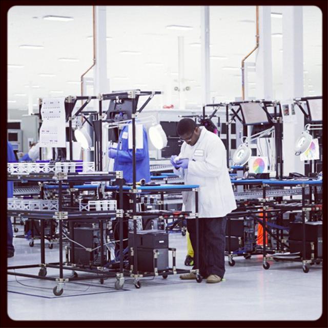 Motorola Moto X US factory