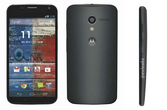 Motorola Moto X leaked press images